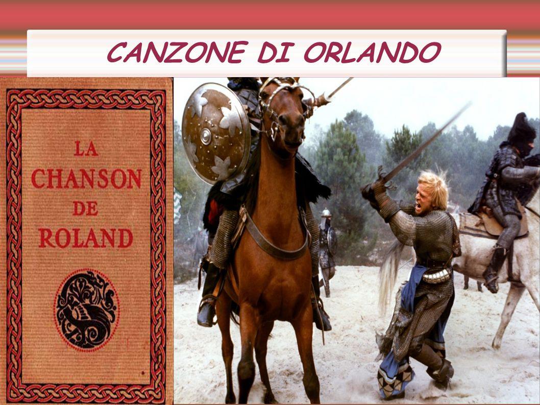 CANZONE DI ORLANDO