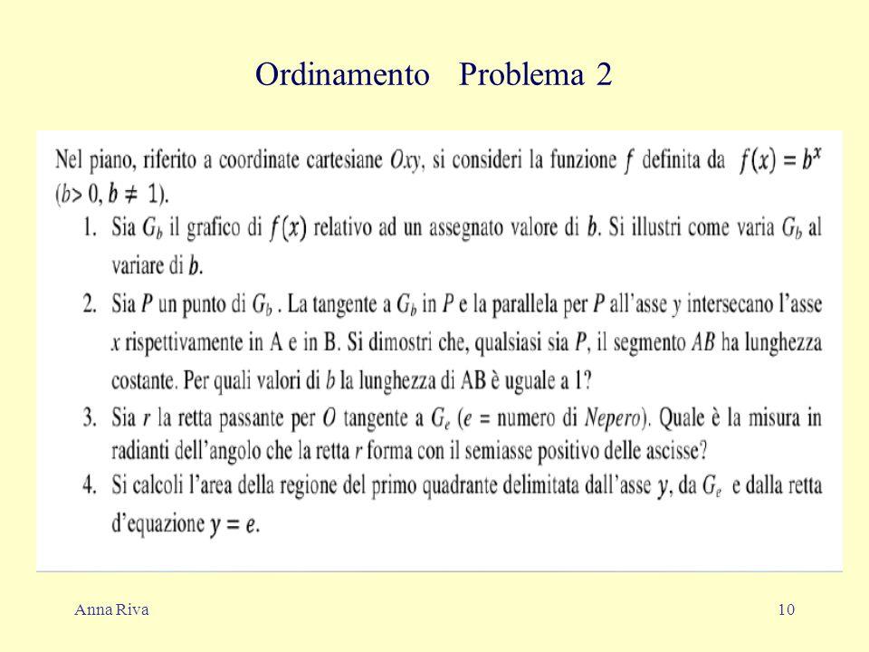 Anna Riva10 Ordinamento Problema 2