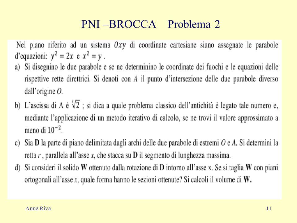Anna Riva11 PNI –BROCCA Problema 2
