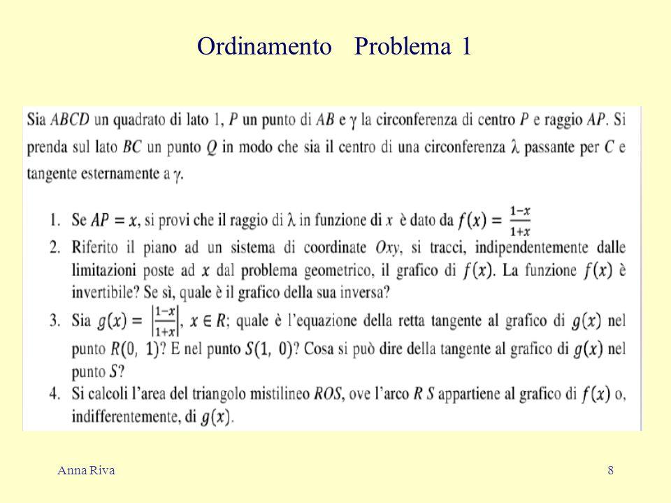 Anna Riva8 Ordinamento Problema 1