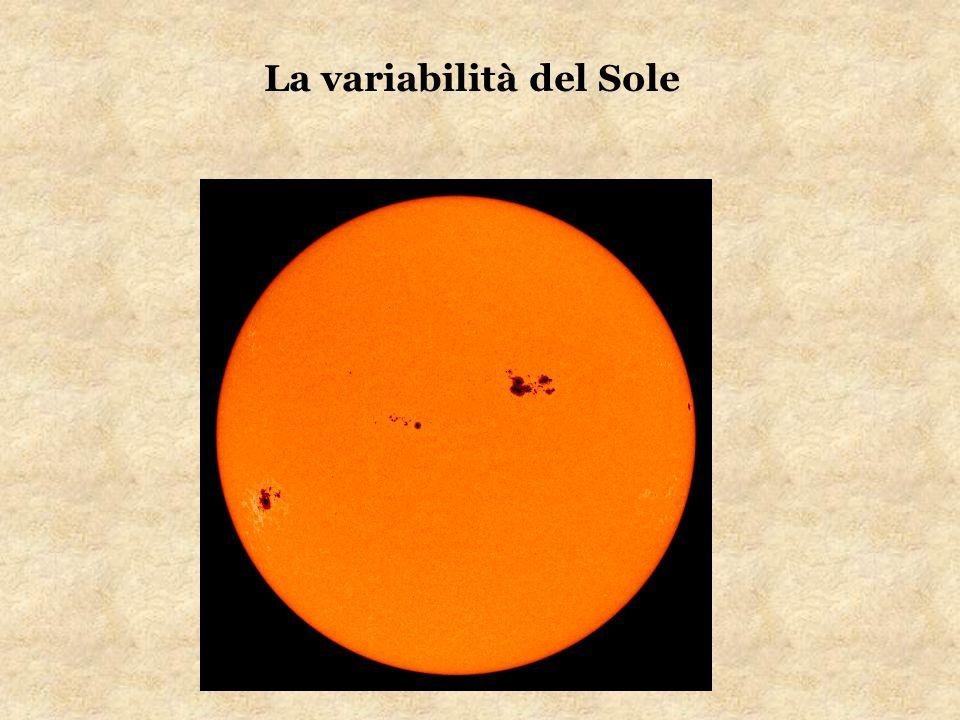 Argomenti trattati: Il ciclo delle macchie solari Origine delle macchie solari I brillamenti Aurore polari