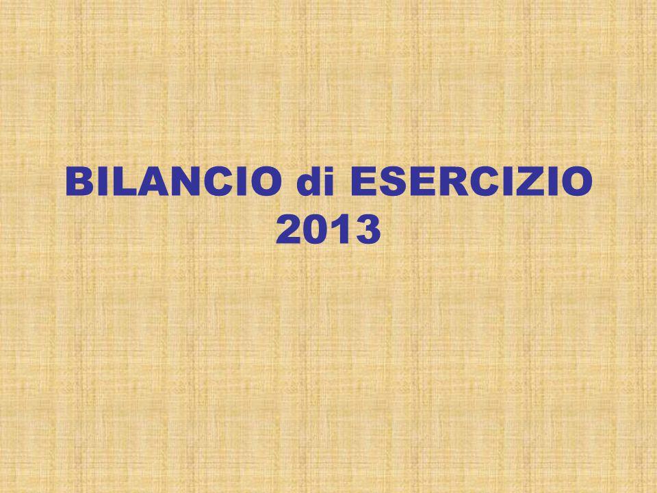 BILANCIO di ESERCIZIO 2013