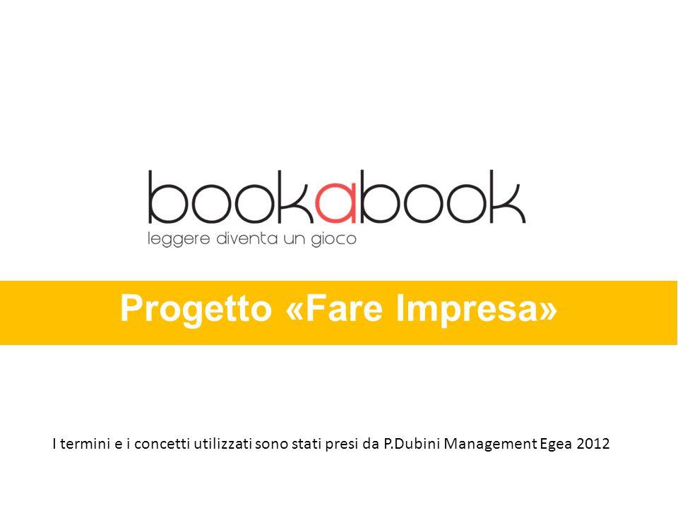 Progetto «Fare Impresa» I termini e i concetti utilizzati sono stati presi da P.Dubini Management Egea 2012