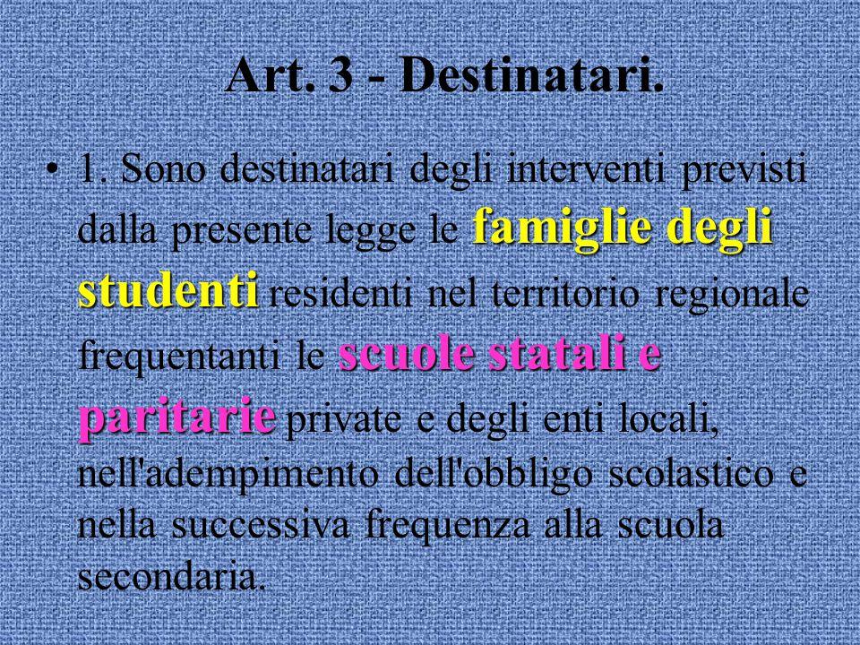 Art.2 - Obiettivi. 2.