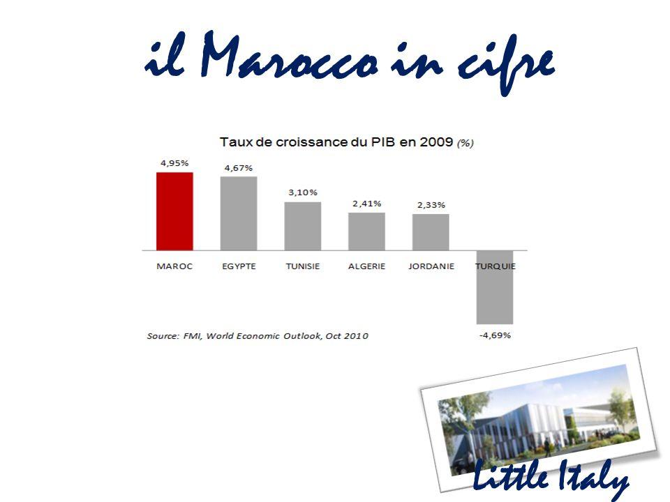 il Marocco in cifre Little Italy
