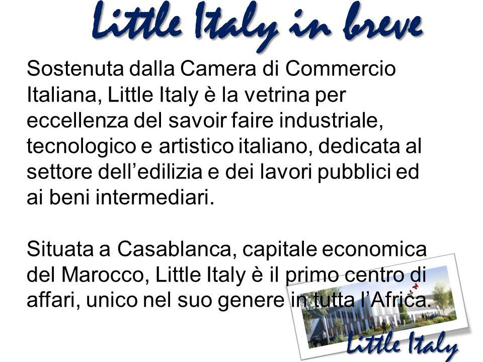 Little Italy Little Italy in breve Sostenuta dalla Camera di Commercio Italiana, Little Italy è la vetrina per eccellenza del savoir faire industriale