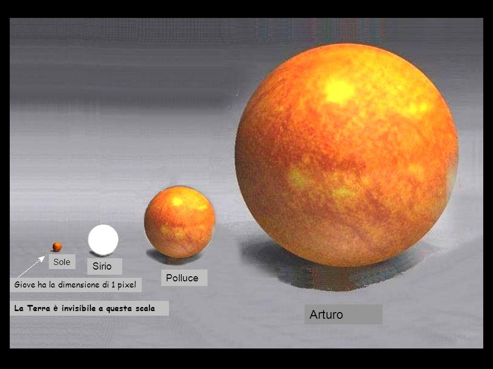 Le dimensioni del nostro pur piccolo universo rendono gi à l ' idea. Ma pi ù in l à del nostro sole c 'è il grande universo...