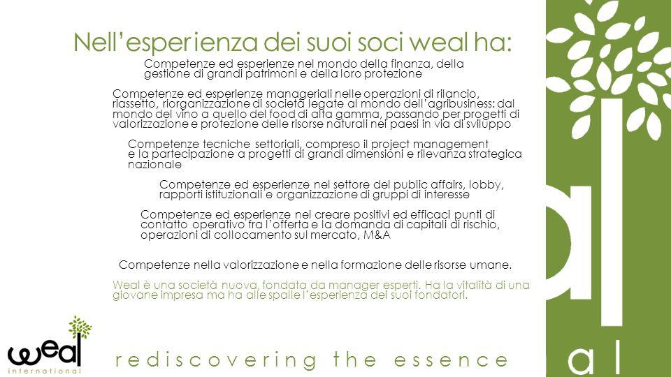 Sandro Feole President & Senior Partner rediscovering the essence È consulente aziendale e commercialista.