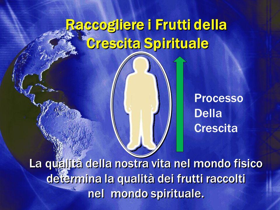 Raccogliere i Frutti della Crescita Spirituale Raccogliere i Frutti della Crescita Spirituale Processo Della Crescita La qualità della nostra vita nel