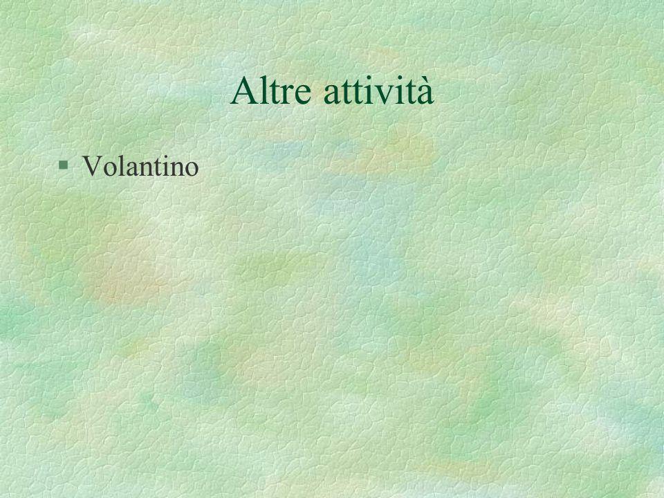 Altre attività §Volantino