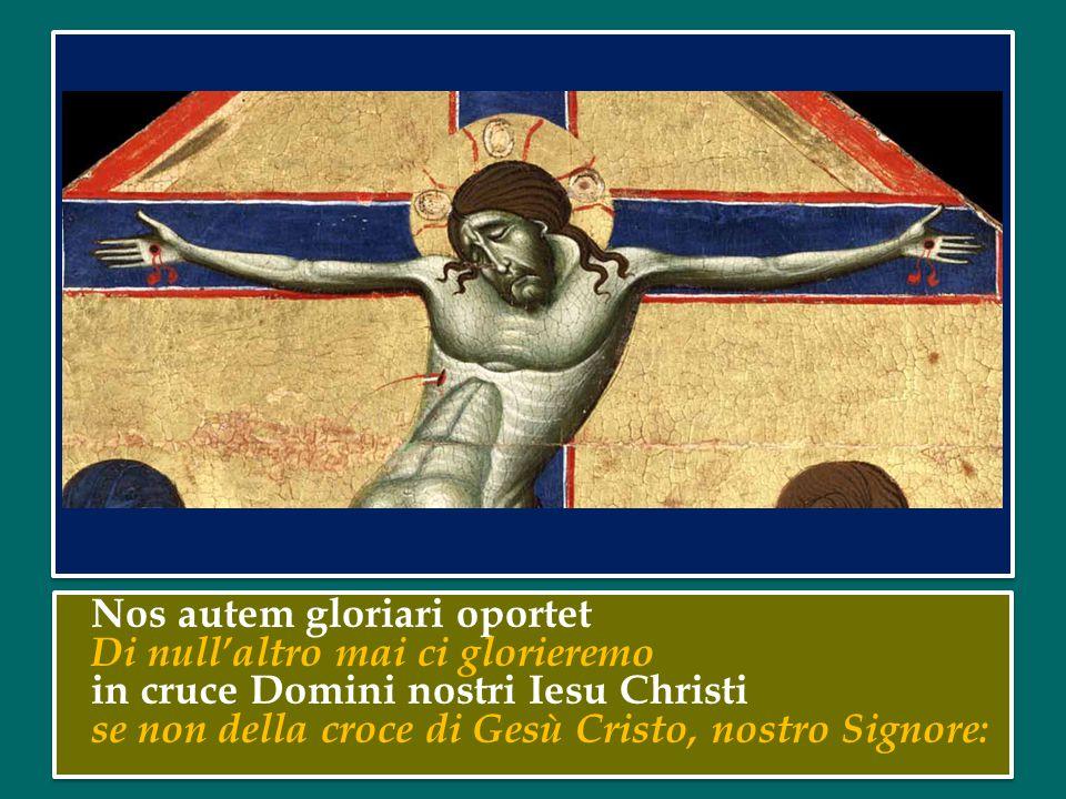 Il 14 settembre la Chiesa celebra la festa dell'Esaltazione della Santa Croce.