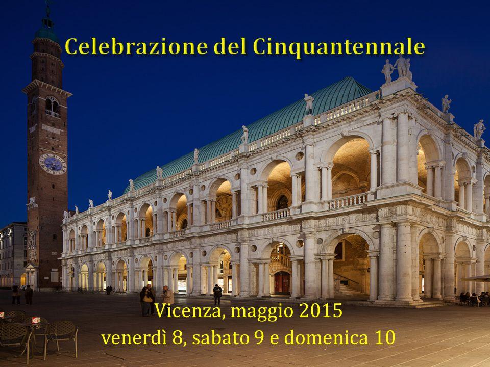 Vicenza, maggio 2015 venerdì 8, sabato 9 e domenica 10