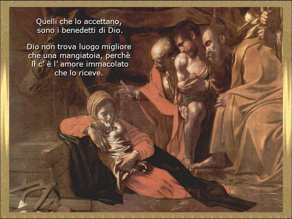 La Vergine e San Giuseppe, con la loro fede, speranza e carità escono vittoriosi dalla prova. Non hanno rifiutato, nè freddo, nè oscurità, nè disagio,
