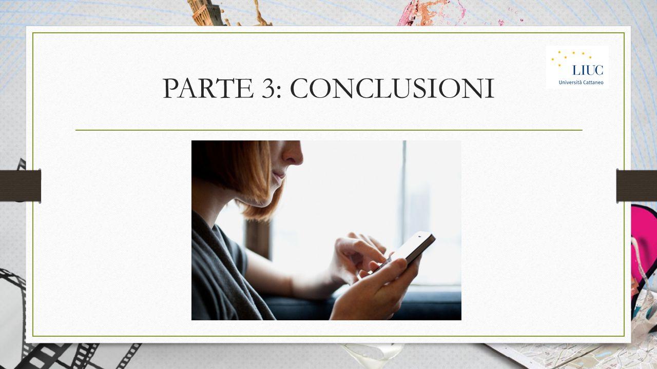 PARTE 3: CONCLUSIONI