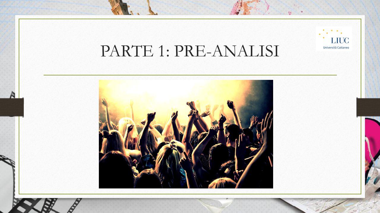 PARTE 1: PRE-ANALISI