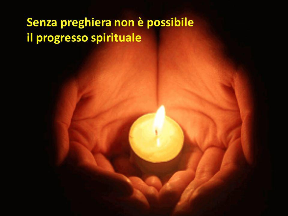 Dopo aver recitato le tue preghiere del mattino, ti consiglio di non recitare ancora molte preghiere, non essere persona di novene e padrenostri ma anima di preghiera