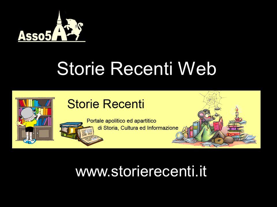 Storie Recenti Web www.storierecenti.it