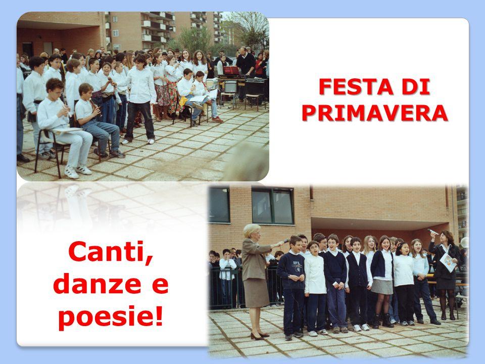 FESTA DI PRIMAVERA Canti, danze e poesie!
