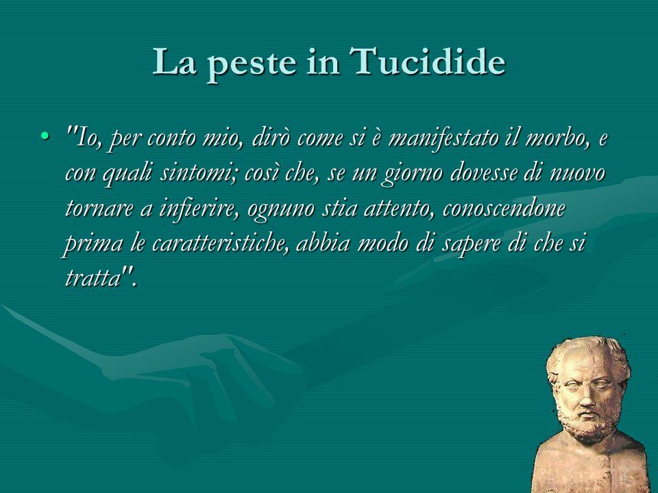 La peste in Tucidide