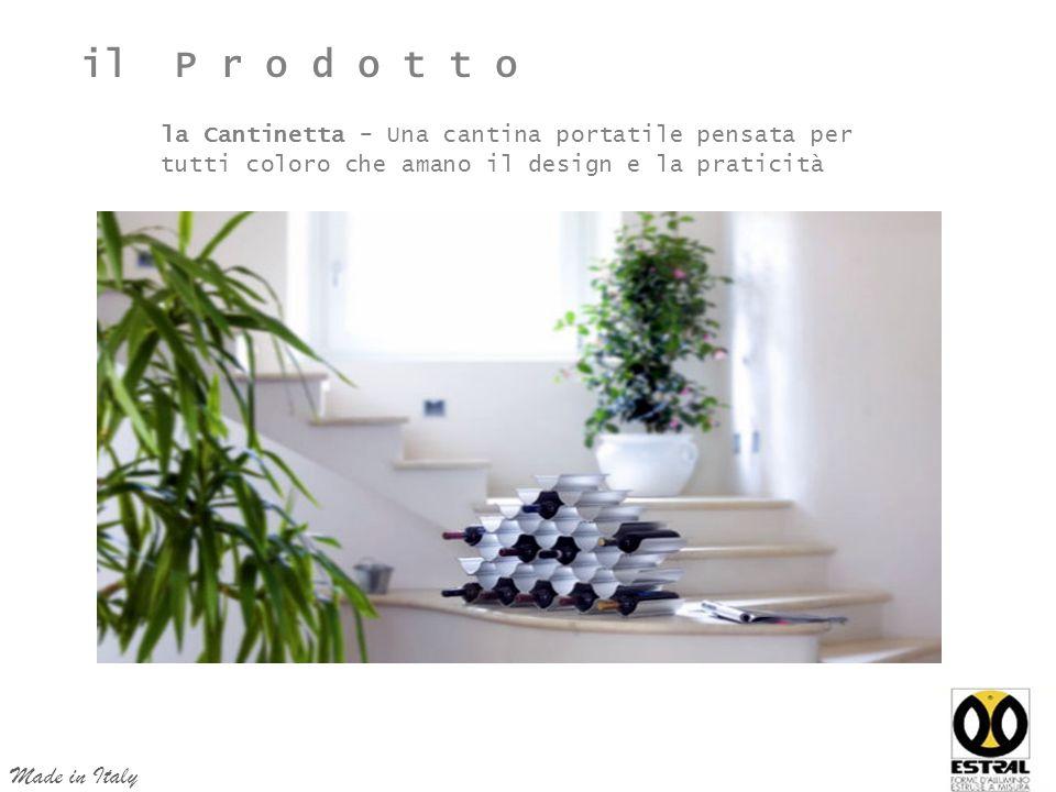la Cantinetta - Una cantina portatile pensata per tutti coloro che amano il design e la praticità Made in Italy il P r o d o t t o