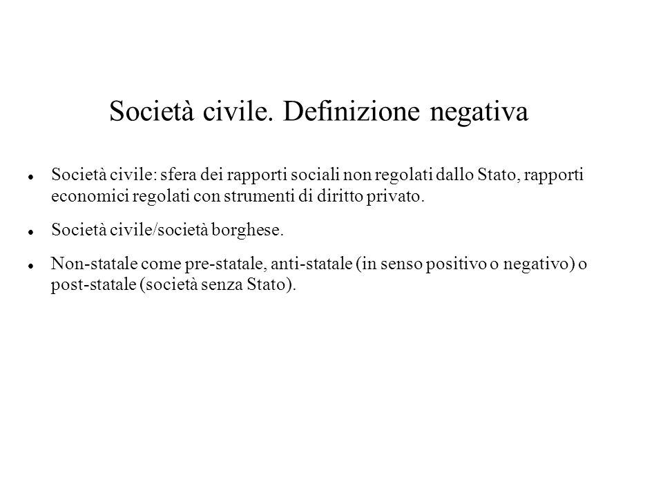 Società civile.