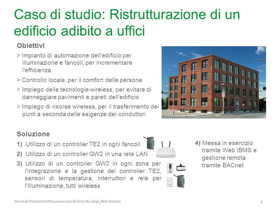 Schneider Electric 46 SmartStruxure solution for Small Buildings_Retail Solution Caso di studio: riscaldamento di una Basilica Storia Costruita nel 1855.