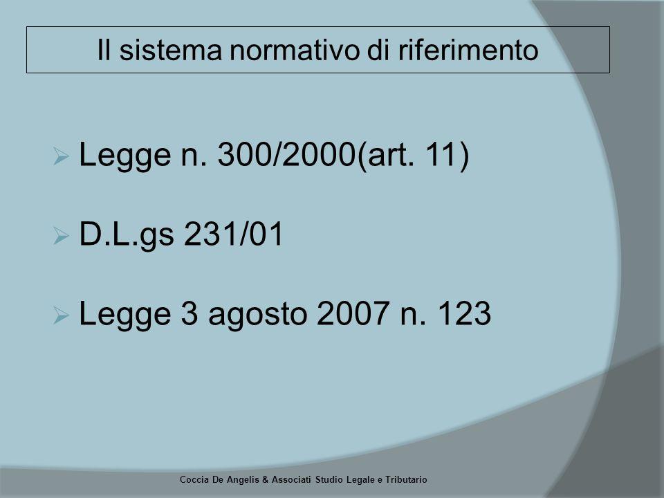 Coccia De Angelis & Associati Studio Legale e Tributario 1) art.
