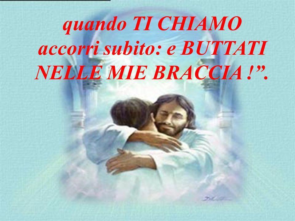 Io sono il tuo Pastore: ti amo e TI CHIAMO per nome.