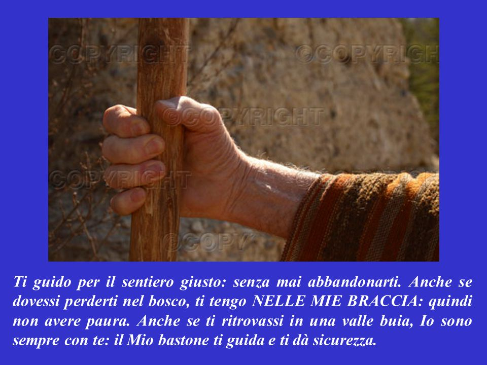 SALMO RESPONSORIALE (Salmo 22,2-6) Questo salmo è Parola di Dio.