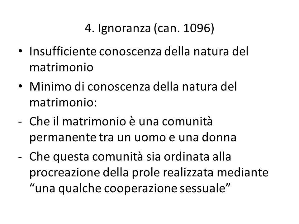 5.L'errore di diritto (can. 1099) L' errore che determina la volontà (can.