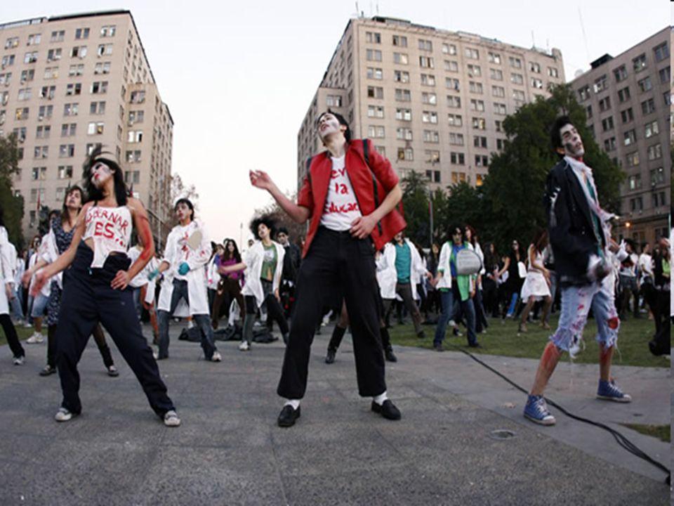 Flashmob Thriller per l'Educazione