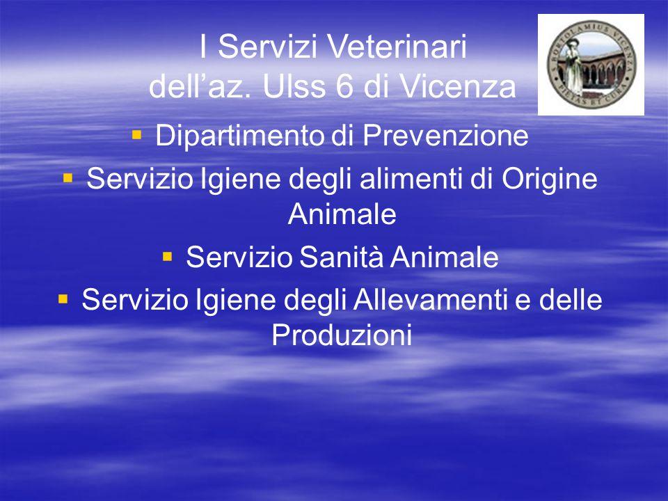 I Servizi Veterinari dell'az.
