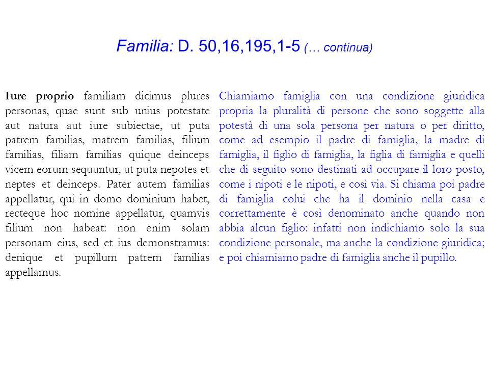 Familia: D.