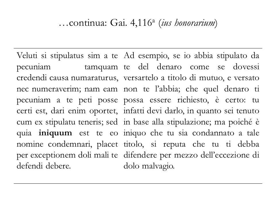 Schiavitù e sue modifiche: Gai.1,52 In potestate itaque sunt servi dominorum.