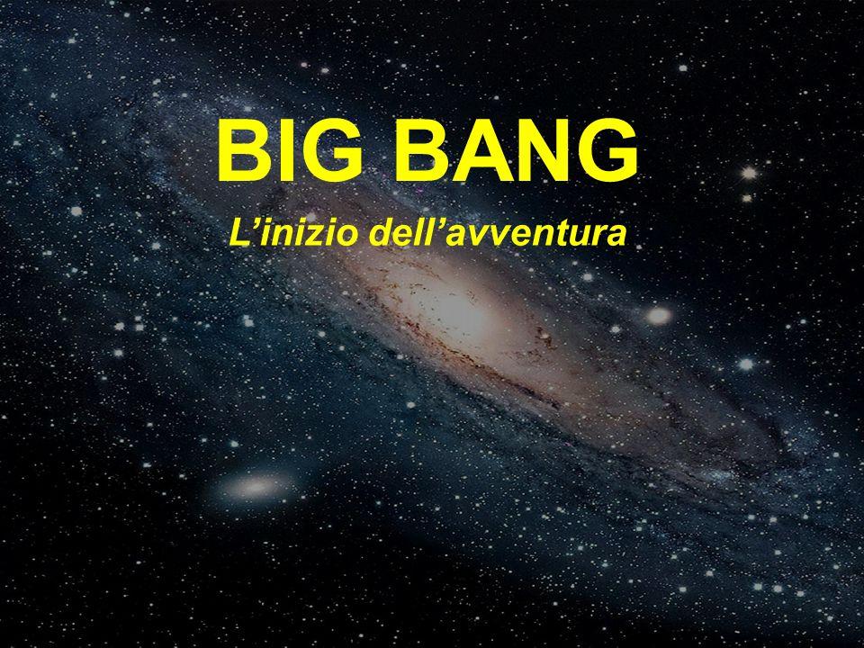 BIG BANG L'inizio dell'avventura