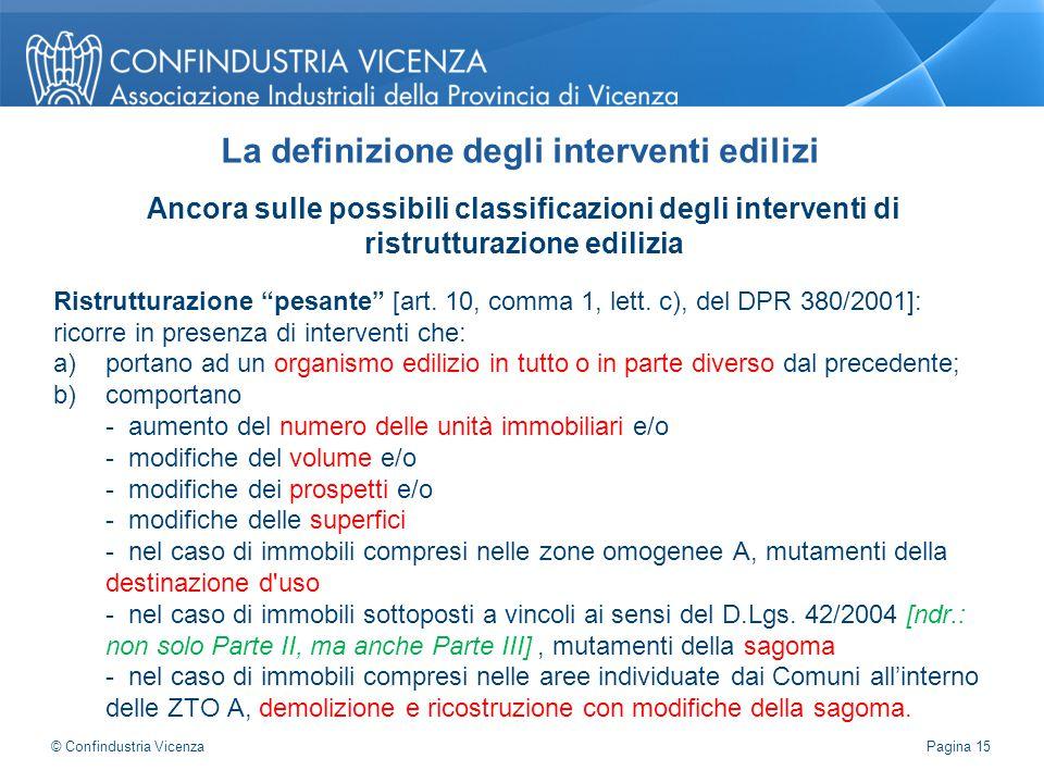 """Ancora sulle possibili classificazioni degli interventi di ristrutturazione edilizia Ristrutturazione """"pesante"""" [art. 10, comma 1, lett. c), del DPR 3"""