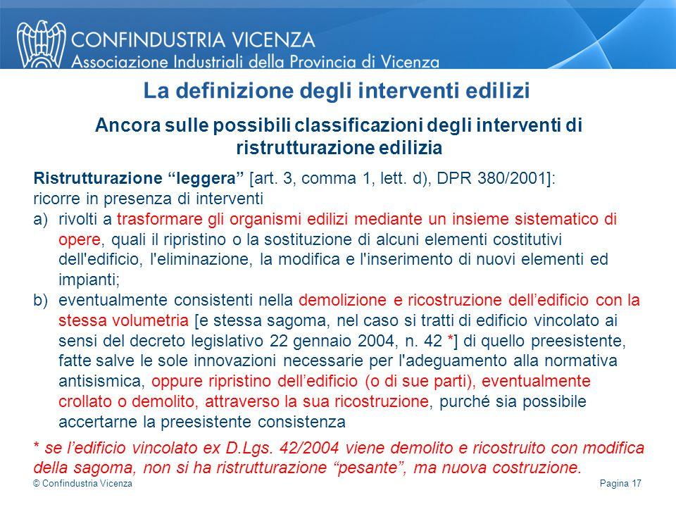 """Ancora sulle possibili classificazioni degli interventi di ristrutturazione edilizia Ristrutturazione """"leggera"""" [art. 3, comma 1, lett. d), DPR 380/20"""