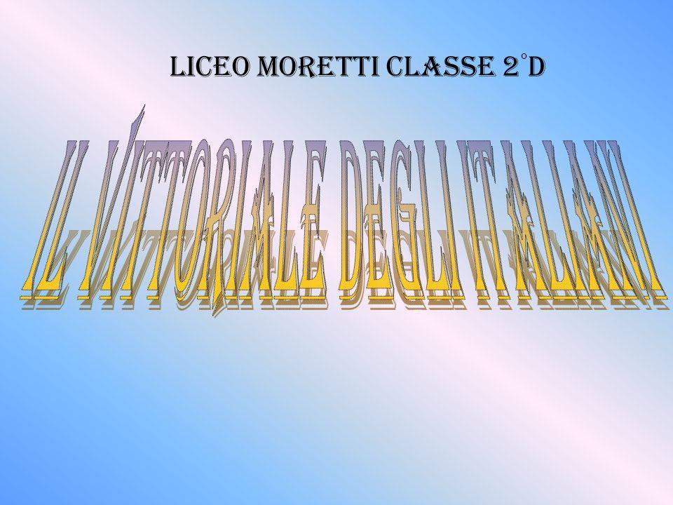 LICEO MORETTI CLASSE 2 ° d