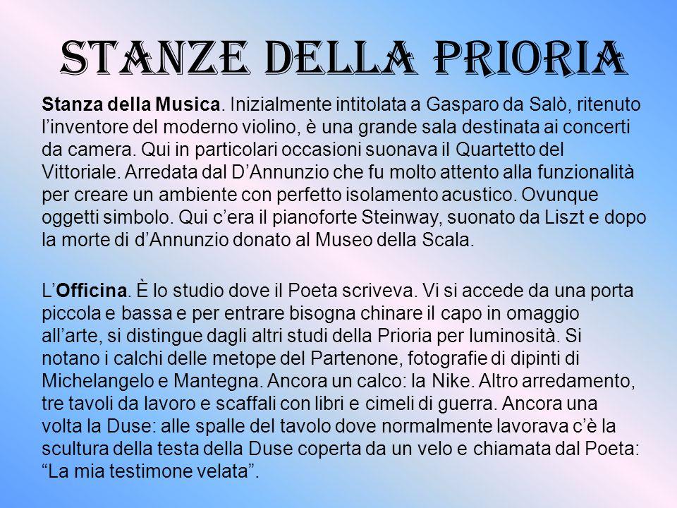 STANZE DELLA PRIORiA Stanza della Musica.