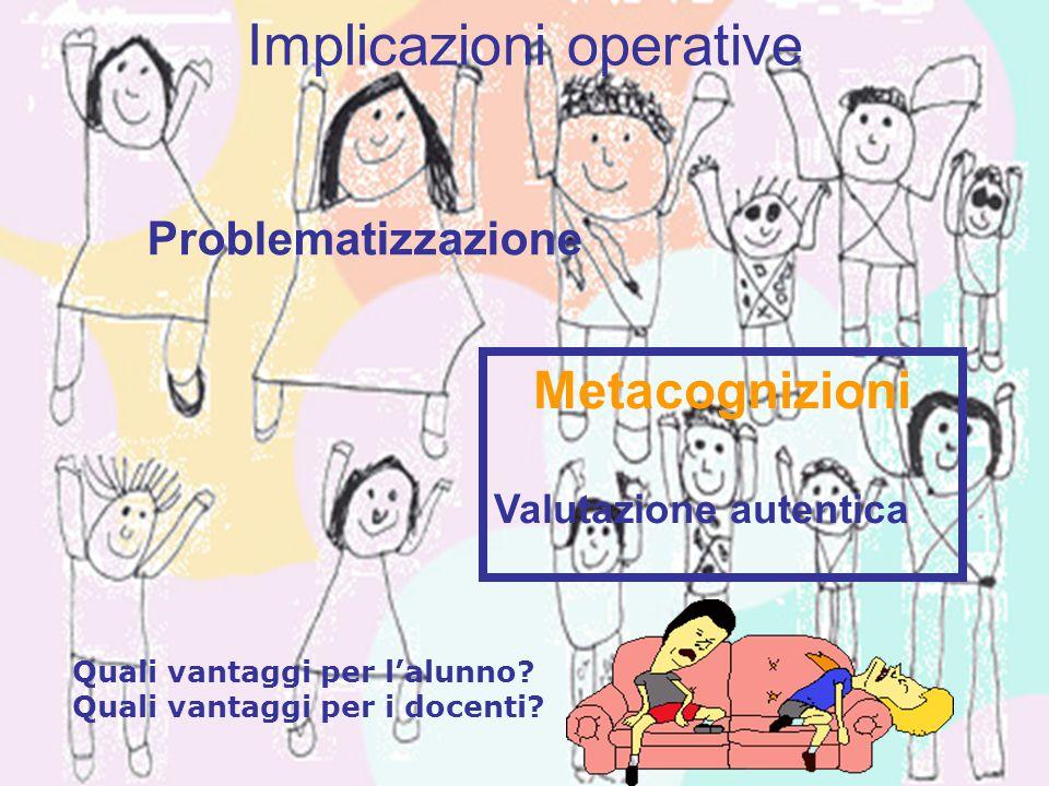 1.È realistica 2. Richiede giudizio e innovazione 3.