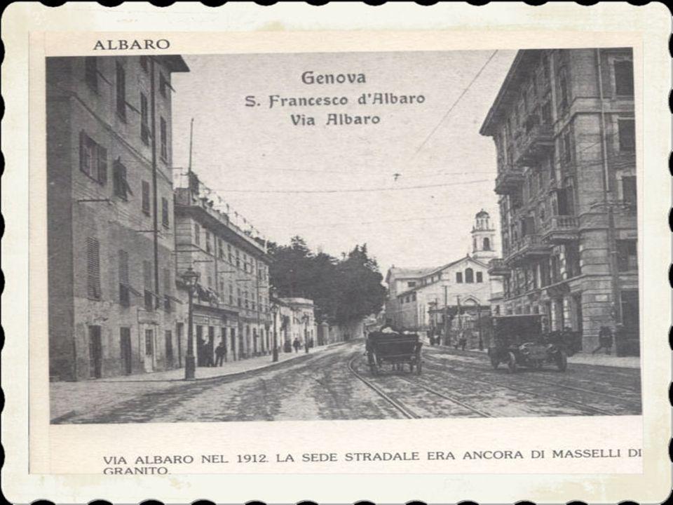 2)il toponimo Albaro deriva forse dalla parola dialettale «arbò», da alba, albore, albeggiamento. L'antico confine segnato dalla strada romana, delimi