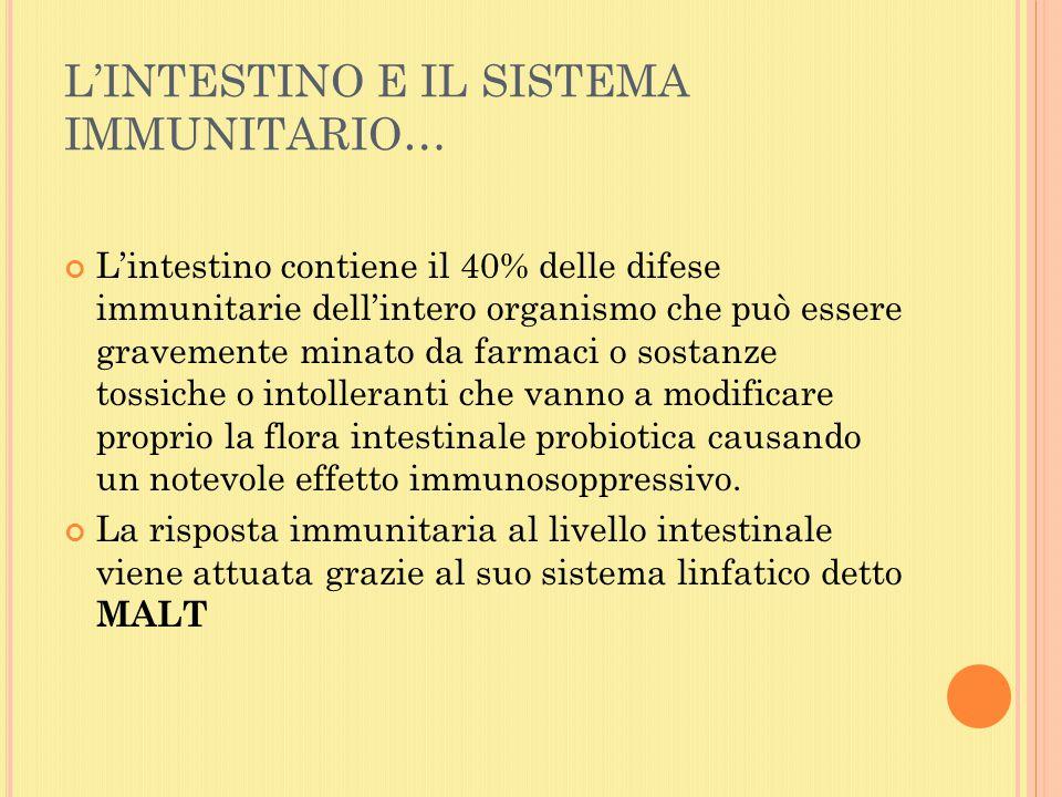 QUANDO L'EQUILIBRIO TRA LE CELLULE E I MICRORGANISMI SIMBIONTI NON SI STABILISCE???...