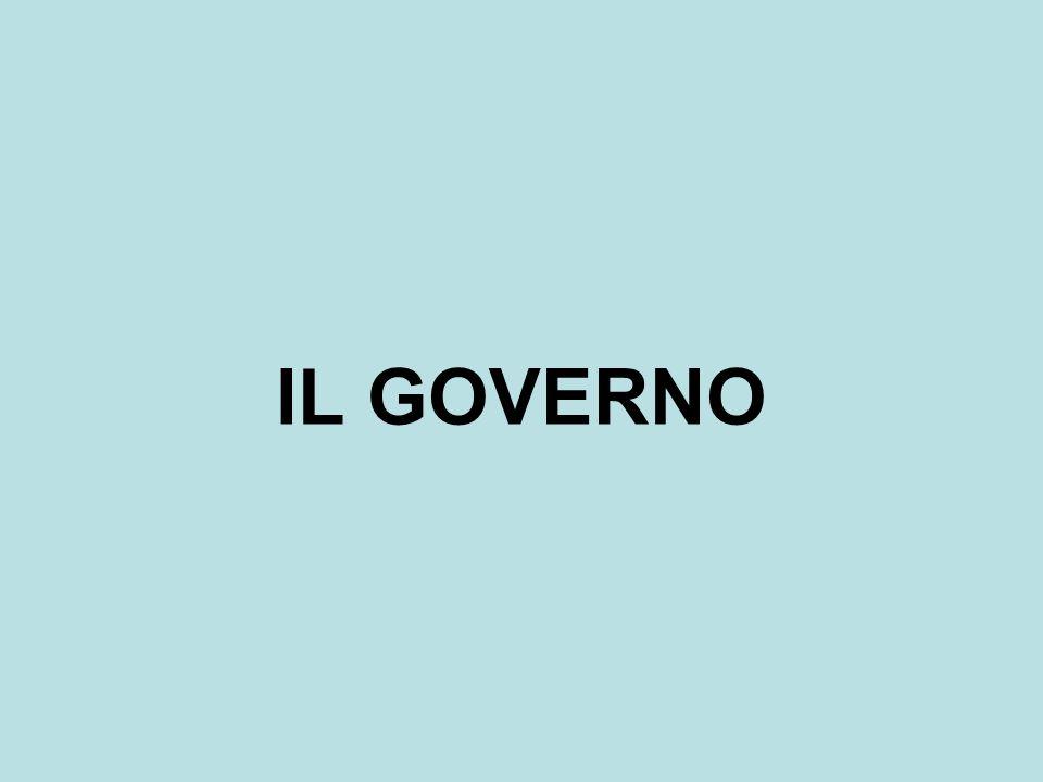 IL GOVERNO