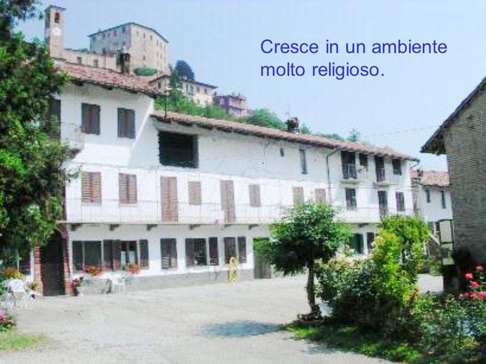 Due anni dopo emette la prima professione religiosa con il nome di Fratel Luigi della Consolata in onore della Madonna e per ricordare un suo confratello prematuramente scomparso.
