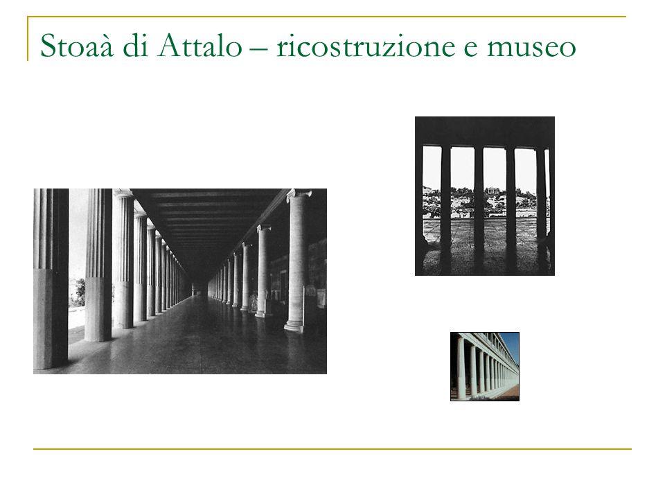 Stoaà di Attalo – ricostruzione e museo