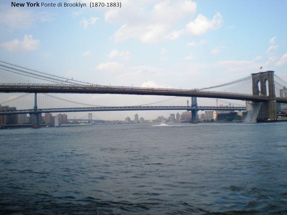 Torino Mole Antonelliana New York Ponte di Brooklyn (1870-1883)