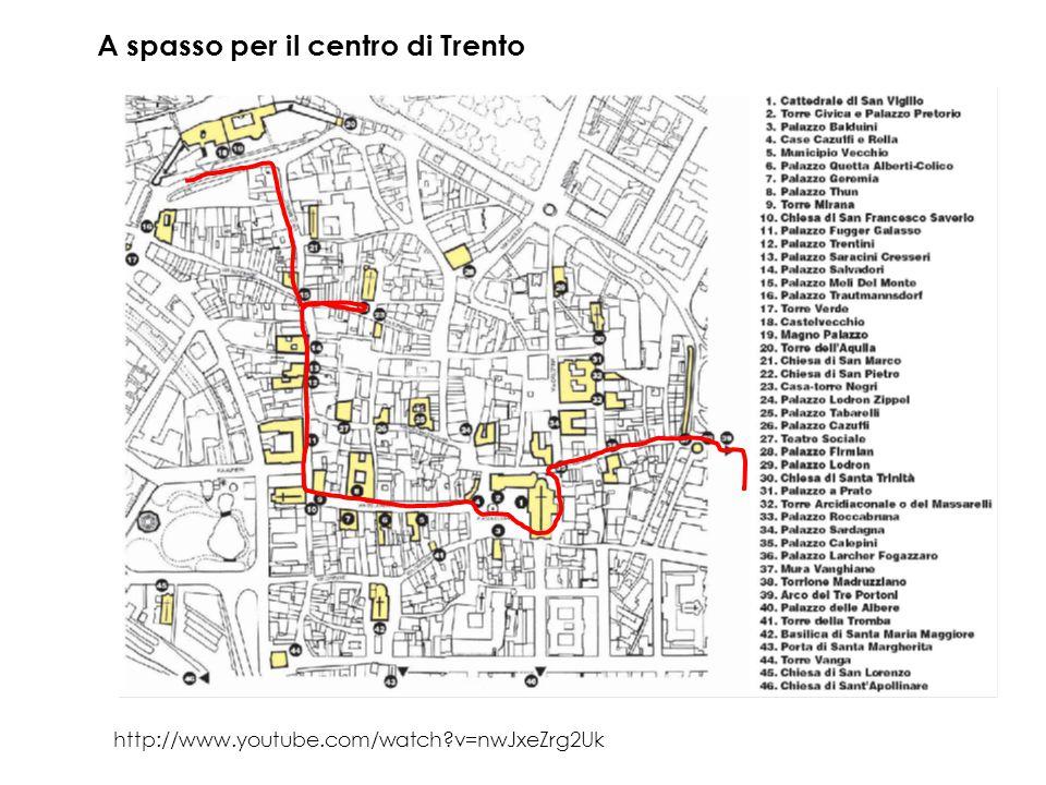 A spasso per il centro di Trento http://www.youtube.com/watch?v=nwJxeZrg2Uk