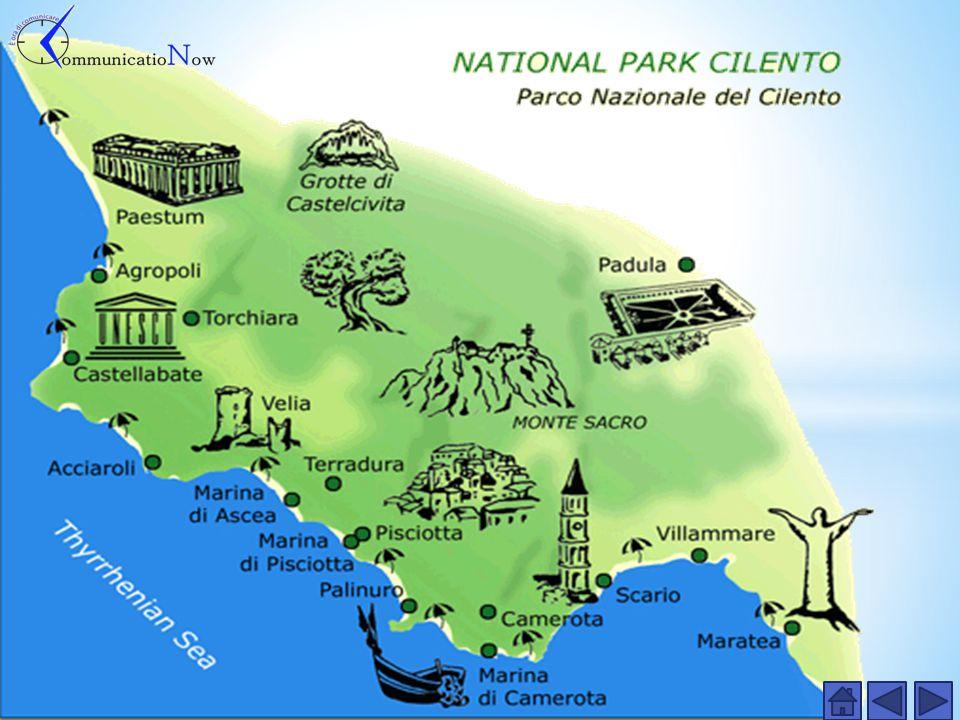 La costiera cilentana è il tratto di costa campana compre so tra il golfo di Salerno e il golfo di Policastro.