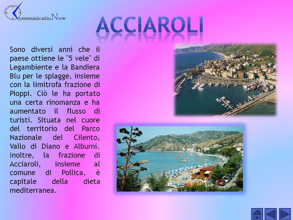 E' un importante centro costiero situato nella zona nord del Cilento e il suo centro storico è di forte richiamo turistico.