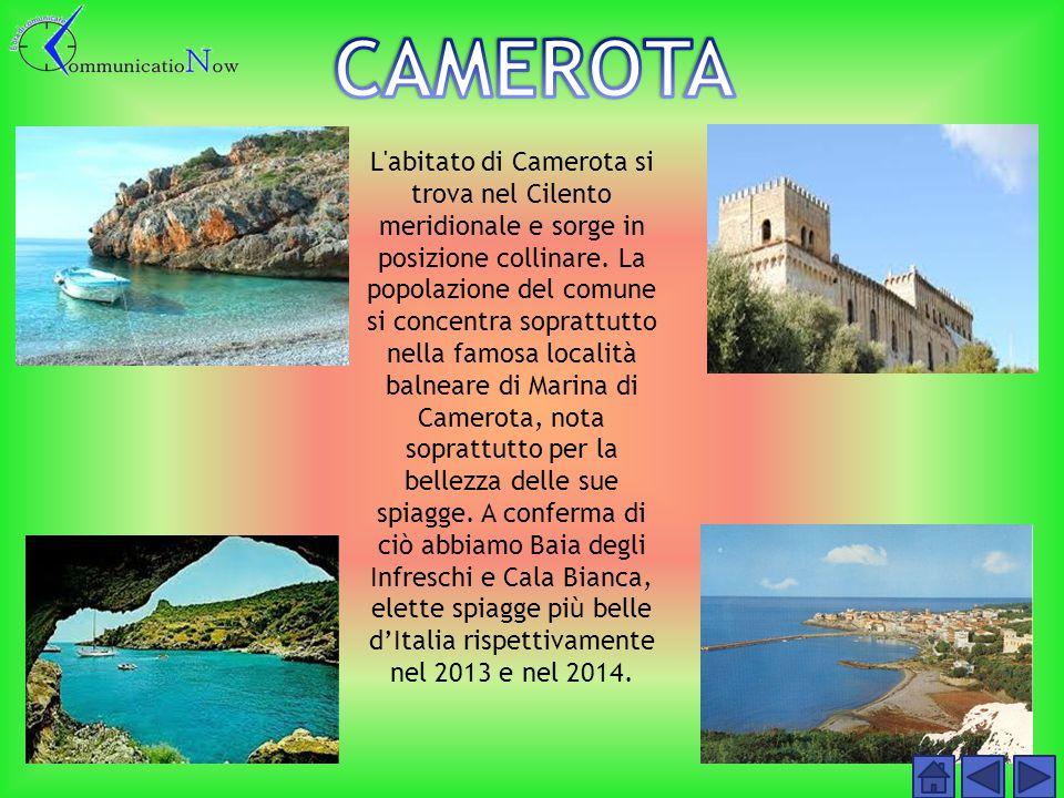 Il comune di Castellabate si estende prevalentemente lungo la costa.